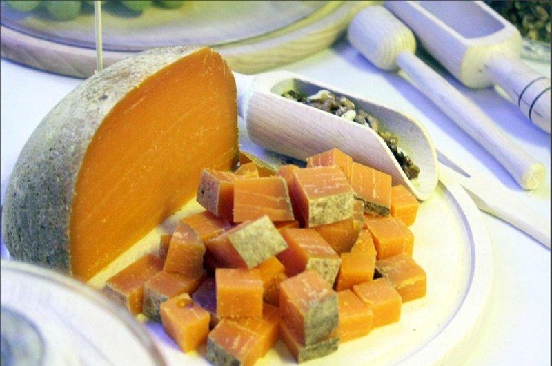 Необычный сыр