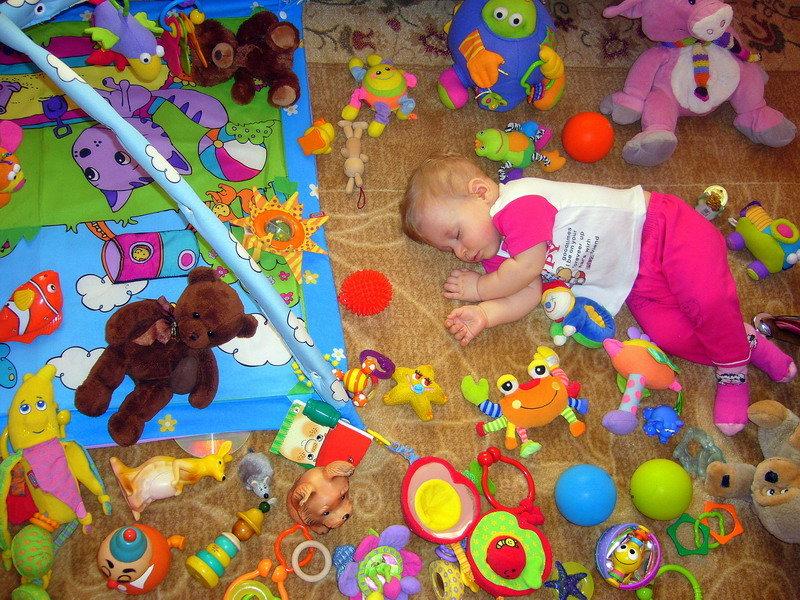 во время богоняется игрушкой фото