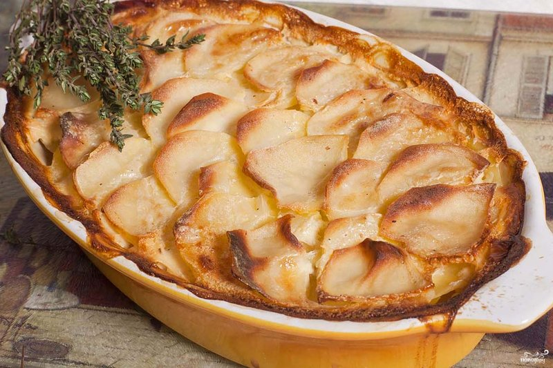 Картофель гратен рецепт с фото пошагово