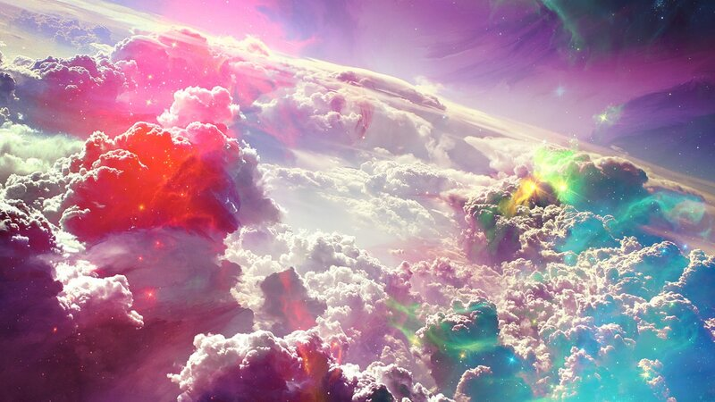 1920x1080 Обои небо, свет, абстракция