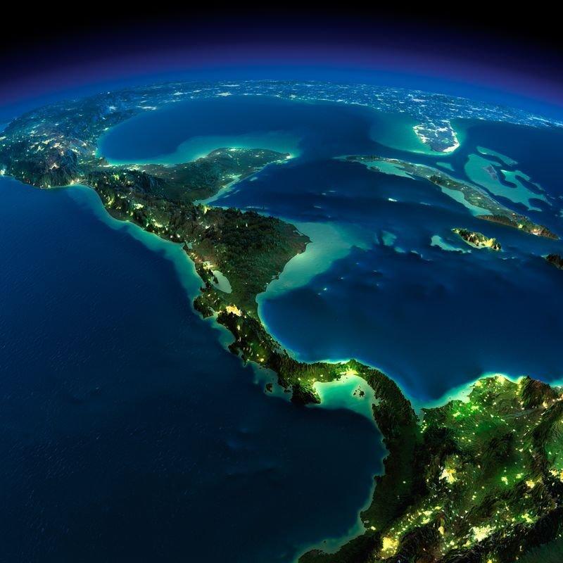 25 удивительных видов ночной Земли из космоса. Обсуждение на LiveInternet - Российский Сервис Онлайн-Дневников