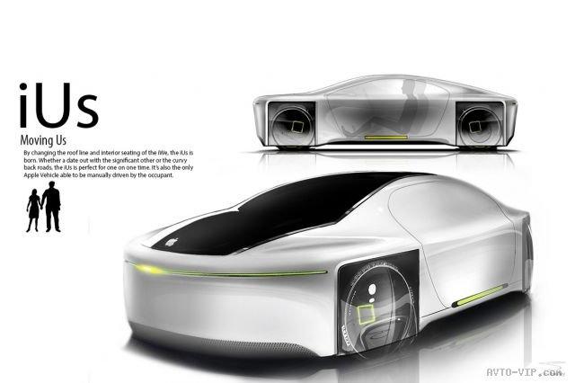 Apple iGo - концепт автономной транспортной системы – Необычные машины