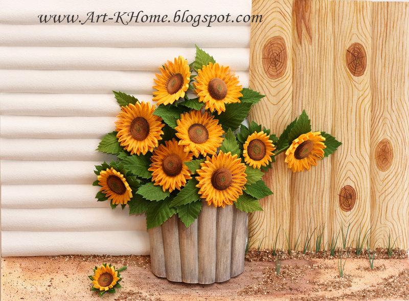Art-KHome - искусство квиллинга: Рисуем акварельный фон