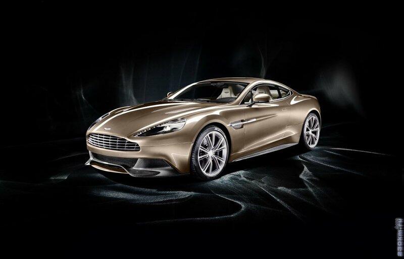Aston Martin V12 Vanquish 2012 купе - интерьер-салон, экстерьер-внешний вид-кузов, приборная панель, багажник