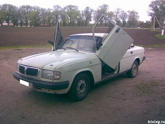 Авто приколы (34 фото) » Триникси