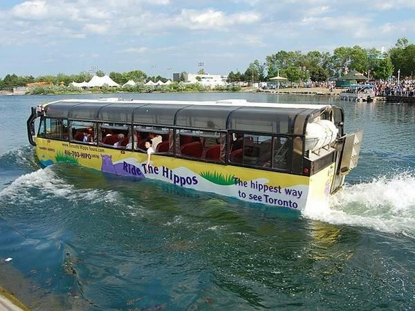Автобус-амфибия Hippo