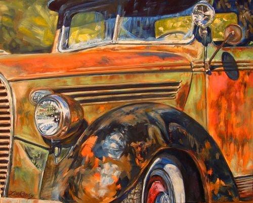 Автомобильная живопись Ли Риди. (3)