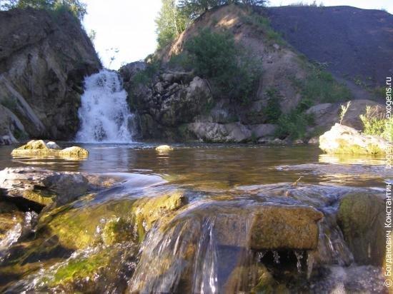 Бассейн беловского водопада