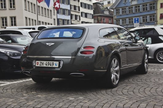 Bentley Continental Supersports Flying Star