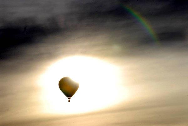 Большая Гонка Воздушных шаров в San Rafael Park