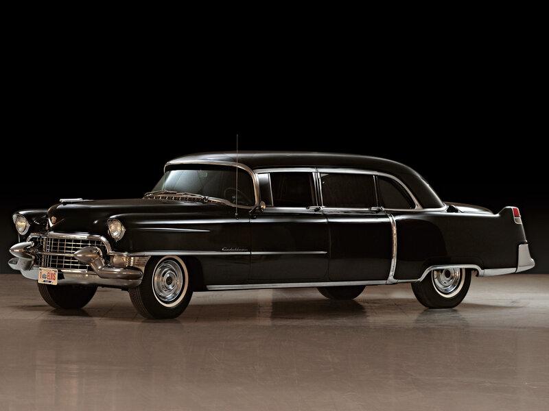 Cadillac Fleetwood Seventy-Five Limousine 1955 Автомобили