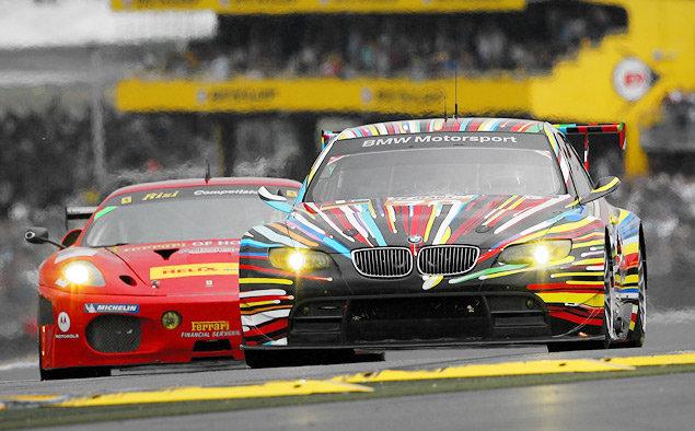 Cамая необычная раскраска гоночных машин