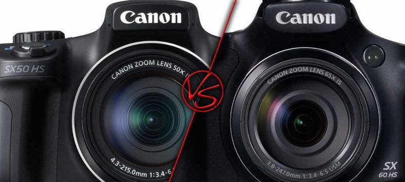 Canon SX50 HS vs Canon SX60 HS _image