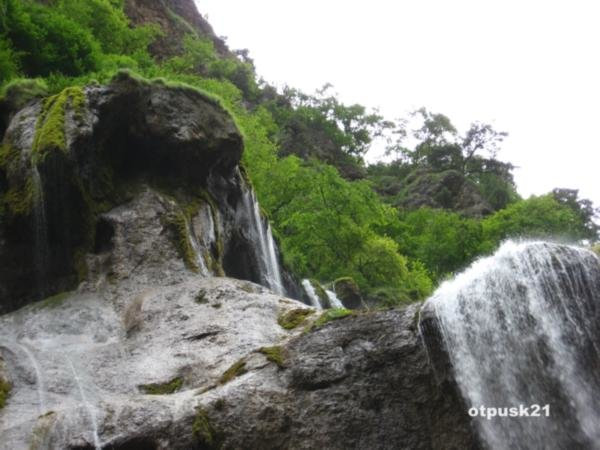 Чегемские водопады - жемчужина Кабардино-Балкарии