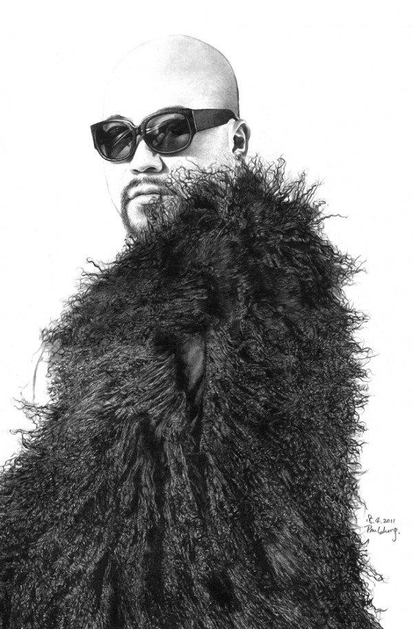 Черно-белые портреты карандашом Пола Лунга (Paul Lung)