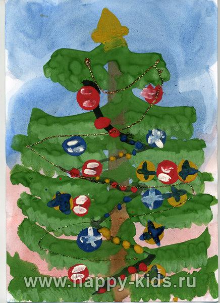 Детский рисунок, Дима Ерофеев, 5 лет