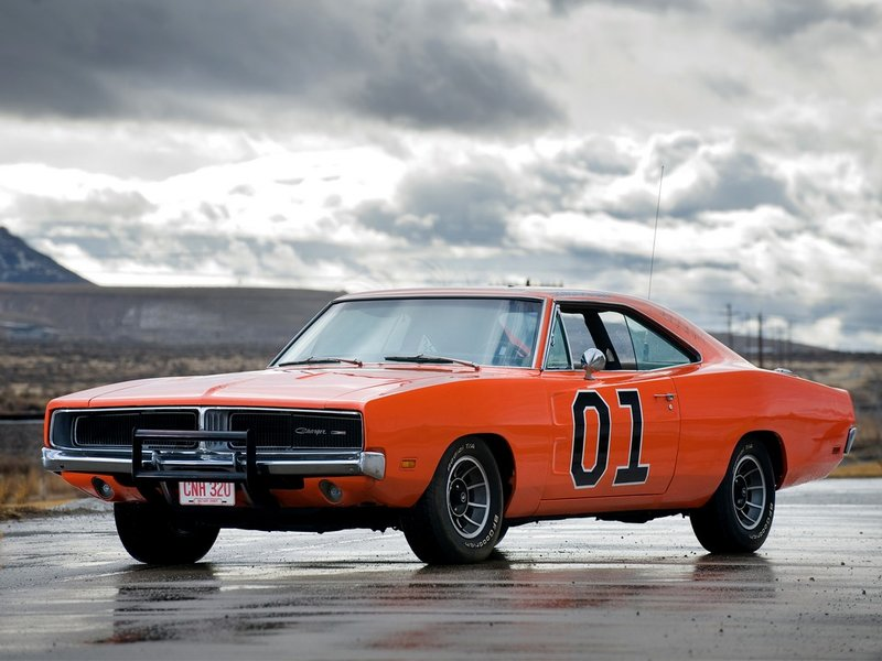 Dodge Charger General Lee '1969 - Cars  - Фотоальбомы - Muscle Cars Garage
