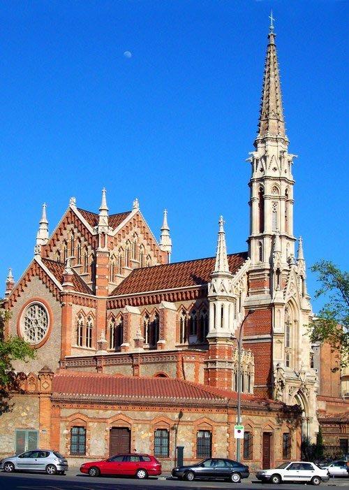 Достопримечательности Барселоны, Церковь Сант Франциск де Салес
