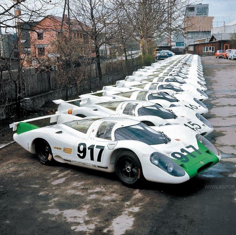 Две жизни Porsche 917