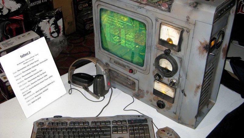 Fallout PC Case Mod 01