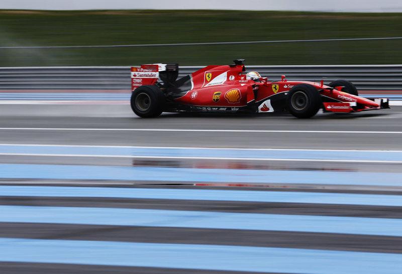 Ferrari добавит белый цвет в ливрею-2016