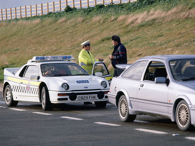 Ford RS200 - Police car 1987 - Mad 4 Wheels