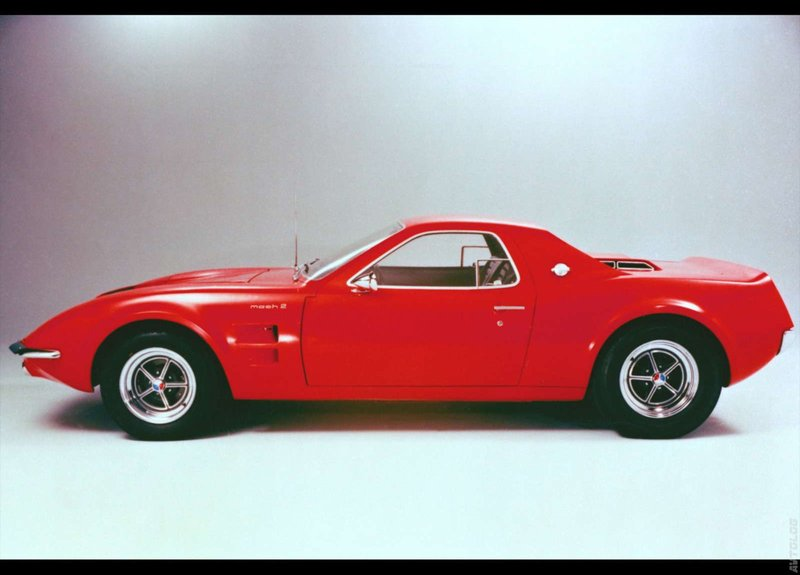 Фото › 1966 Ford Mustang Mach 2 Concept