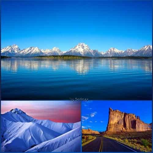 Фото необыкновенно пригожих гор