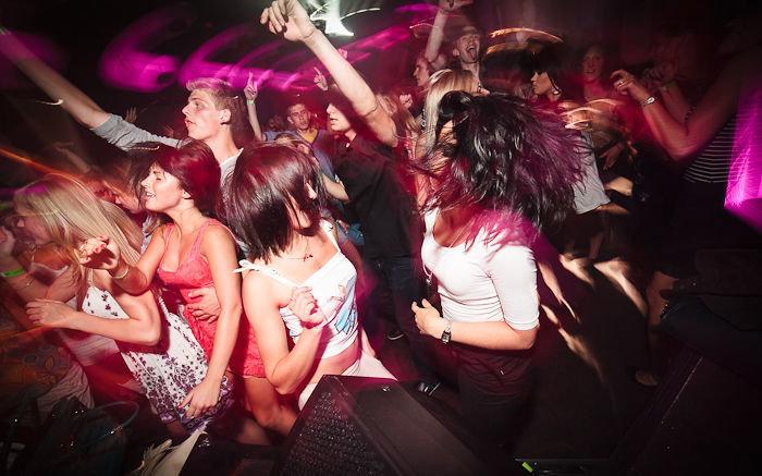 Фото в ночном клубе