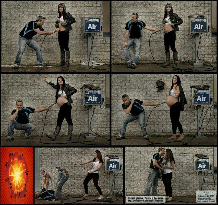 Фотосессия для беременных: идея!
