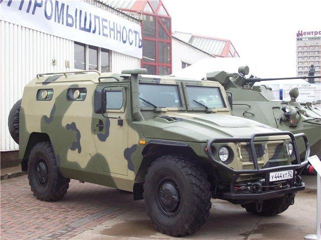 ГАЗ-2975 «ТИГР» Военный внедорожник и гражданское авто. Фото и видео. | Мировые авто на AvtoRus.Com