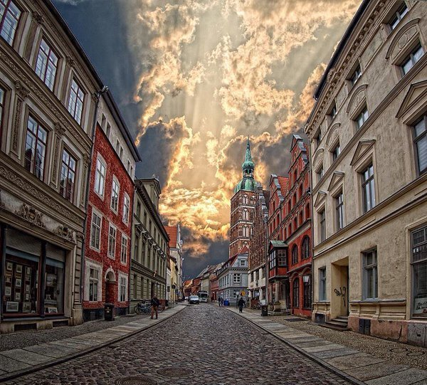Город под облаками
