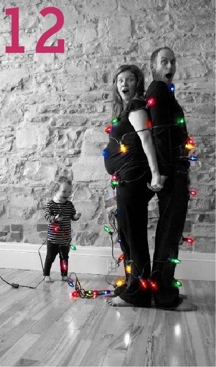 Идеи семейного новогоднего фото