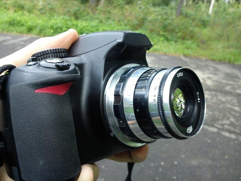 Индустар-61 на Nikon D3100. Спонтанный тест. | Rockbaro.net