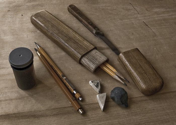 Инструменты, материалы, техника и технология рисунка