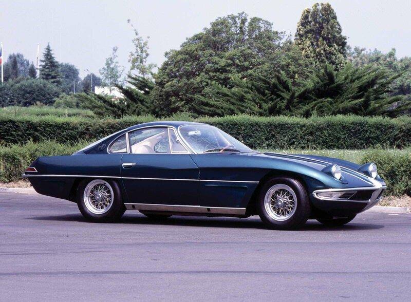 История авто - Lamborghini