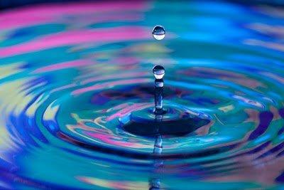 Как фотографировать воду: капли и брызги
