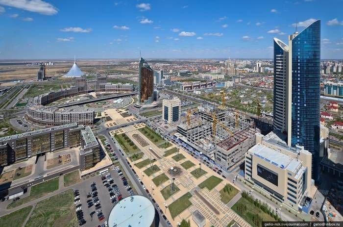 Казахстан: Астана с высоты