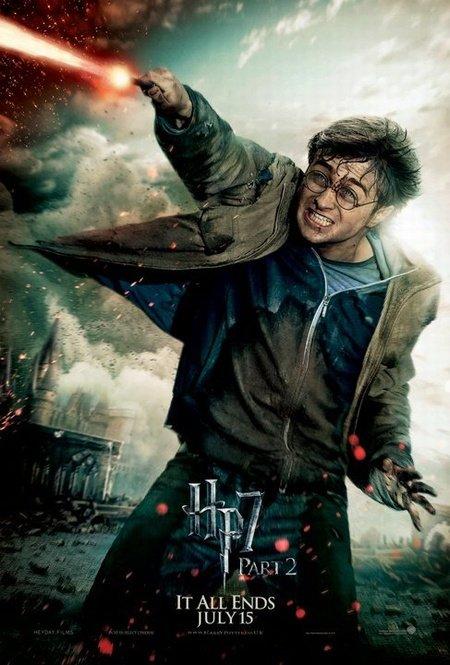 Характер-постер фильма «Гарри Поттер и Дары смерти. Часть 2»