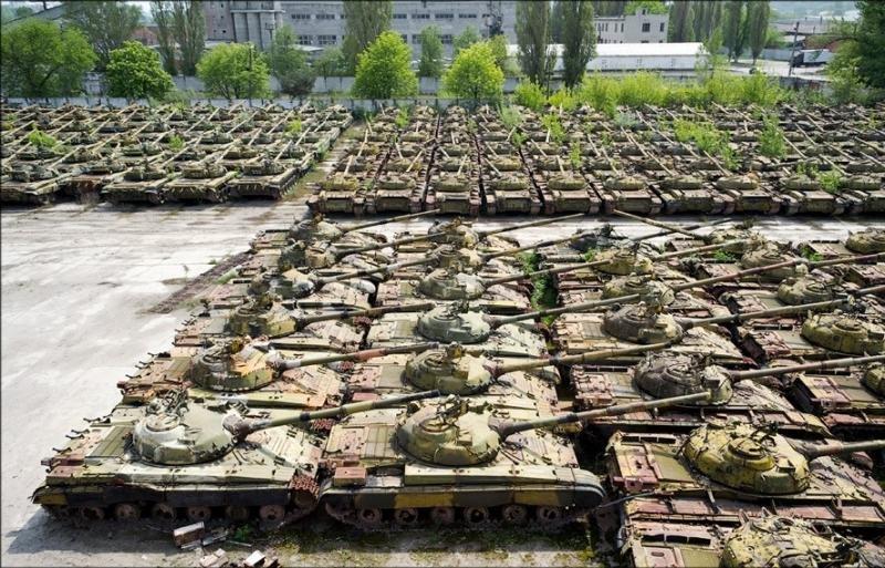 Кладбище танков Киев