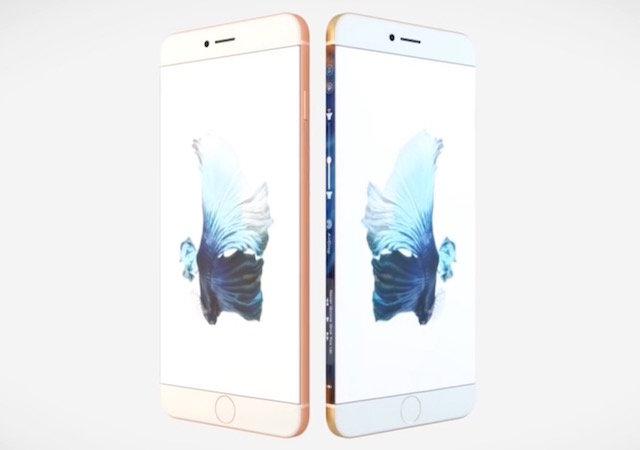 концепт iPhone 8 с 5-дюймовым дисплеем