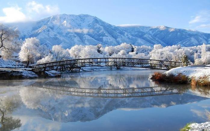 Красивая зима - лучшие фото зимних пейзажей. Обсуждение на LiveInternet - Российский Сервис Онлайн-Дневников