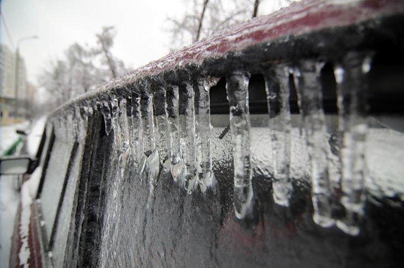 Лёд на машине