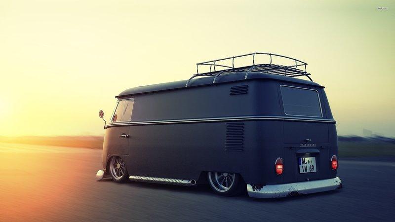 Lowrider Volkswagen Bus