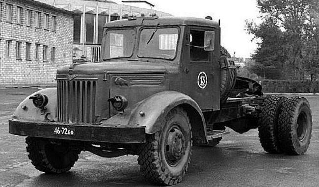 МАЗ 200В, военный вариант