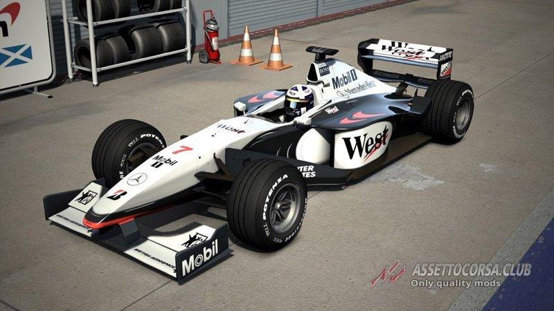McLaren MP4-13 F1 1998 для Assetto Corsa