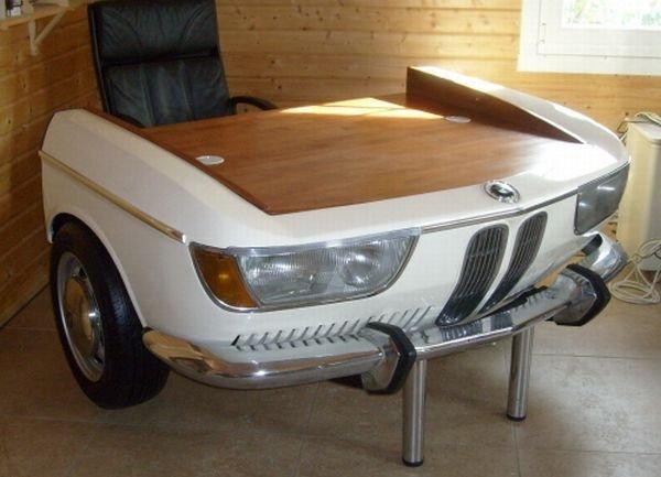 Мебель из автомобильных запчастей!