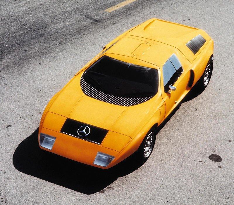Mercedes-Benz C111-I, 1969