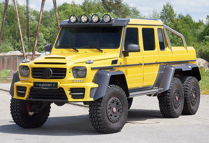 Mercedes-Benz G 6x6 Mansory X-treme
