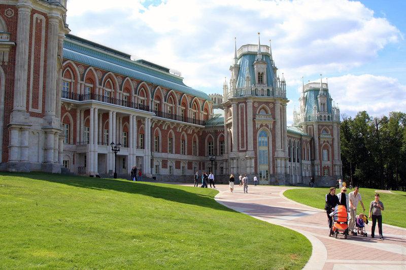 Москва. Царицыно — фотографии